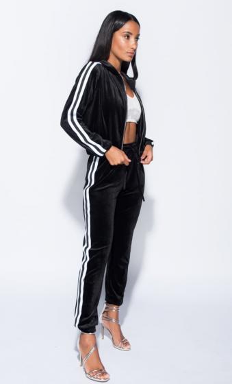 Black Velvet Loungewear