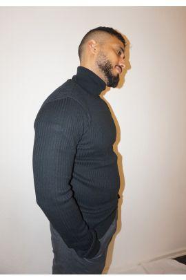 Black Brave Soul Neck Knitwear