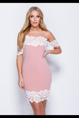 Rose Pink Bodycon Dress