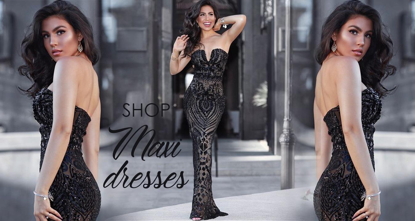 Shop Maxi dresses at NSXLABEL